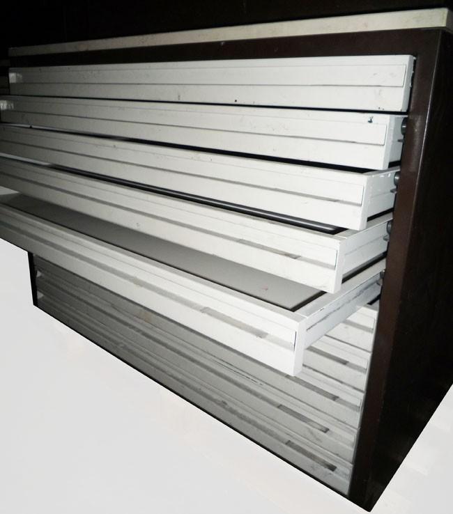 Meuble tiroirs pour plan occasion vendu - Armoire a plans occasion ...