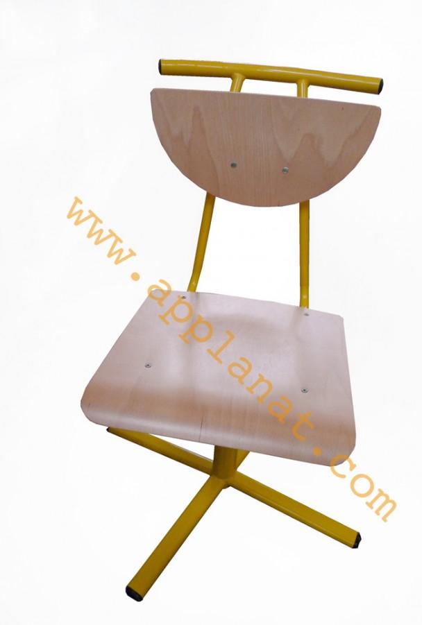 chaise de collectivit coque bois jaune occasion nous consulter. Black Bedroom Furniture Sets. Home Design Ideas