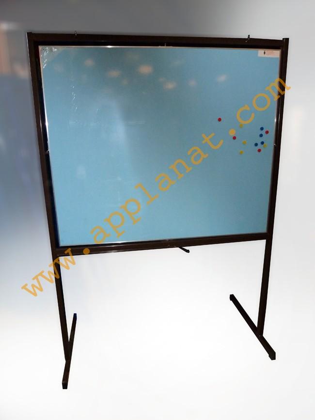 tableau blanc ou craie rotatif sur pieds occasion nous. Black Bedroom Furniture Sets. Home Design Ideas