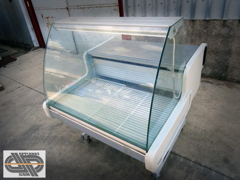 vitrine r frig r e 1m00 sur roulette frilixa regua 1m. Black Bedroom Furniture Sets. Home Design Ideas