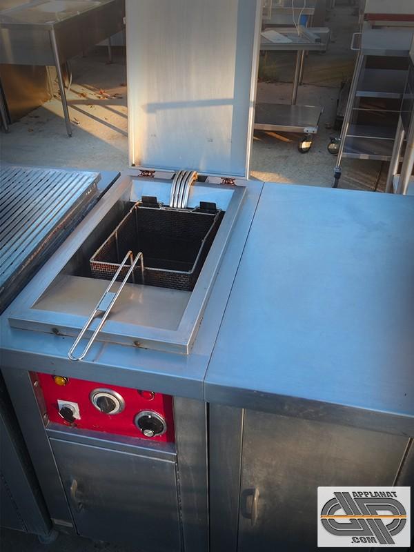 Friteuse gaz 2x15 litres sur coffre - 900 SERIES - WHIRLPOOL ...