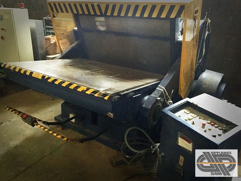 Presse de d coupe et rainage rq ml 1600 a occasion nous consulter - Machine a couper le pain occasion ...