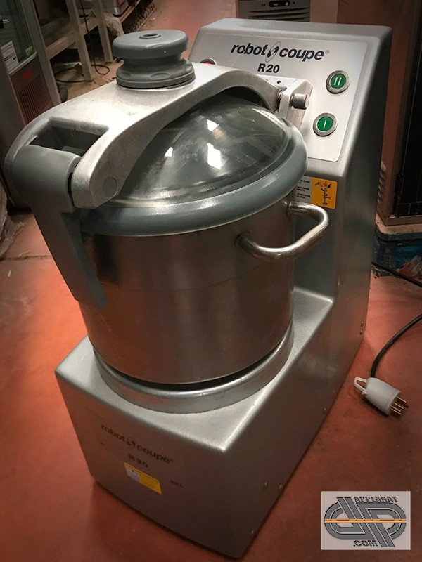 Cutter vertical 20 litres robot coupe r 20 occasion - Machine a couper le pain professionnel ...