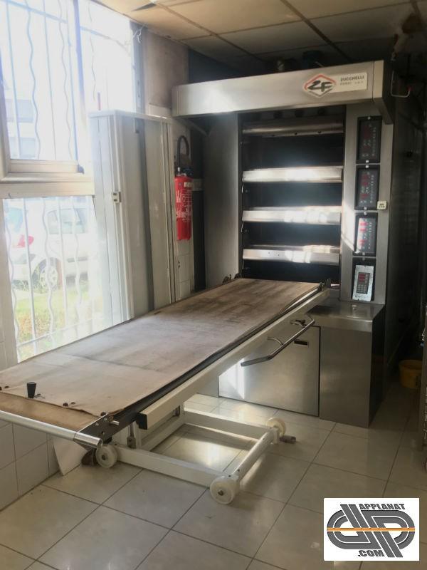 Four De Boulangerie Electrique A Soles Zucchelli 40716 4 5 M2 De Cuisson Occasion 14 950 00 Ht