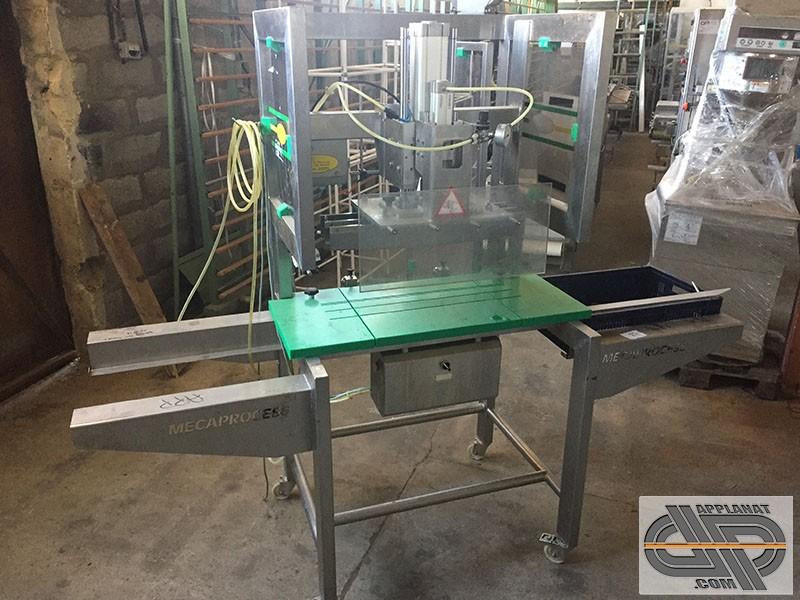 Trancheuse guillotine d coupe m canique mecaprocess st 65 occasion nous consulter - Machine a couper le pain occasion ...