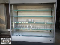 Vitrine murale - 5 niveaux 1m90- CARRIER - OPTIMER 1946