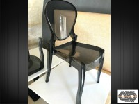 Lot 24 chaises QUEEN par Pedrali