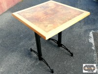 Lot 18 tables CHR plateau Werzalit