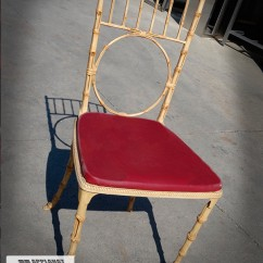 Lot 24 chaises CHR imitation os - bambou – AL DESIGN