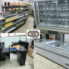 STOP AFFAIRE: pour agencer une superette ± 100m2 • Lot complet de mobiliers
