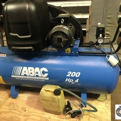 Compresseur d'air 10 bars_200-Hp4 - ABAC gamme PRO - A39B 200 CT4
