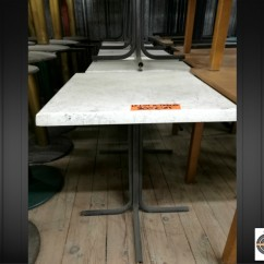 Lot 9 tables brasseries 60x60