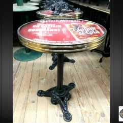 Lot 21 tables bistrot rondes Ø 55 cm - visuel interchangeable