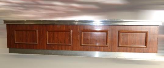 comptoir de bar r frig r 5 m tres avec arri re r frig r occasion 9 990 00 ht. Black Bedroom Furniture Sets. Home Design Ideas