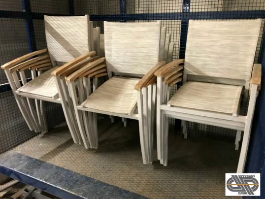 occasion terrasse de bridges de IKONE Petit lot chaises 14 L4Aj35R