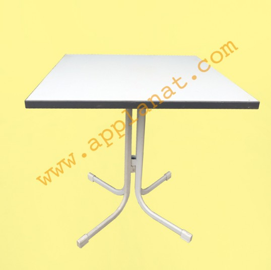 table carr e blanche 70x70 occasion nous consulter. Black Bedroom Furniture Sets. Home Design Ideas
