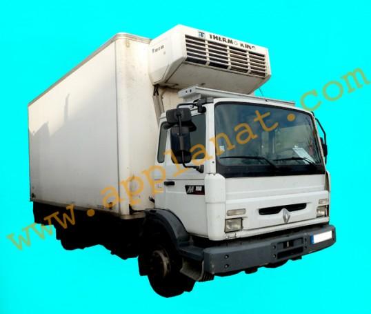 camion frigorifique n gatif avec hayon renault midliner m 180 occasion nous consulter. Black Bedroom Furniture Sets. Home Design Ideas