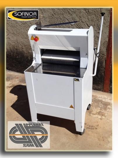 Trancheuse coupeuse pains sofinor by45 semi automatique occasion vendu - Machine a couper le pain occasion ...