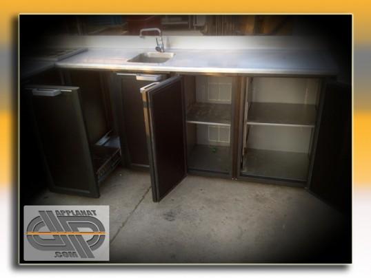 Comptoir r frig r d 39 angle gamko 195x250 cm larg 60 cm occasion vendu - Comptoir refrigere occasion ...