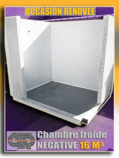 Chambre froide n gative 16m3 occasion 4 990 00 ht - Chambre froide negative occasion ...
