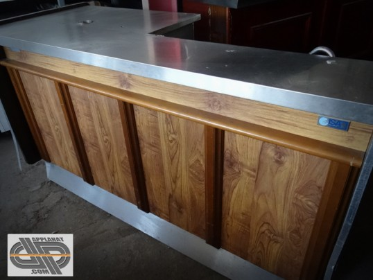 comptoir de bar r frig r 2 m tres goupe log isa banco bar flipper 200 occasion vendu. Black Bedroom Furniture Sets. Home Design Ideas