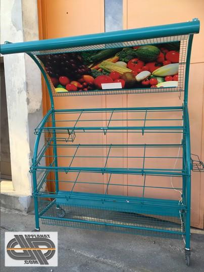 Pr sentoir fruits et l gumes primeur occasion nous - Meuble legume ...