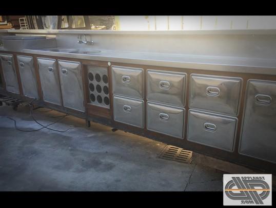 Comptoir de bar r frig r 5m40 groupe distance occasion 7 500 00 ht - Comptoir refrigere occasion ...