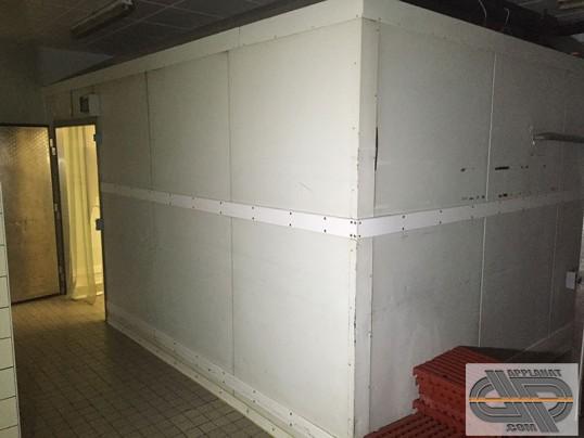 chambre froide positive 5m00 x 3m60 40 m3 groupe distance occasion vendu. Black Bedroom Furniture Sets. Home Design Ideas
