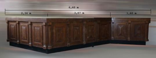 Comptoir r frig r et sec longueur m tres occasion 4 990 00 ht - Comptoir refrigere occasion ...