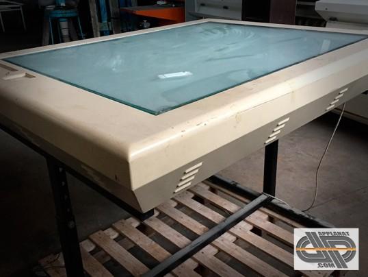 Grande table lumineuse de bureau pour format a0 occasion for Table lumineuse