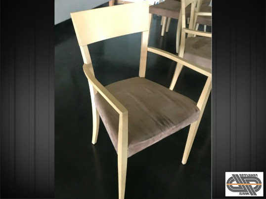 Mobilier CHR : Lot 14 chaises bridge de restaurant occasion