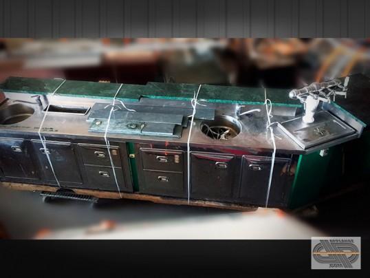 Comptoir de bar r frig r 4m40 angle 150 occasion 8 500 00 ht - Comptoir refrigere occasion ...