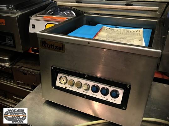 machine sous vide de table avec r injection gaz inerte occasion vendu. Black Bedroom Furniture Sets. Home Design Ideas