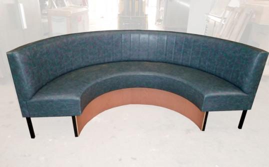 banquette demi lune occasion nous consulter. Black Bedroom Furniture Sets. Home Design Ideas