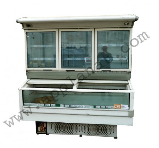 Meuble r frig r 1m80 n gatif type requin occasion 2 190 for Meuble mural refrigere