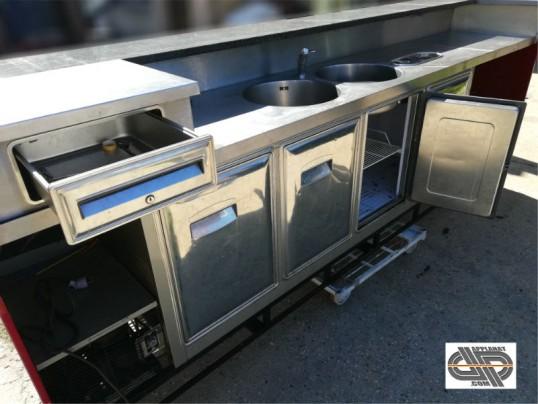 Comptoir de bar r frig r rouge 3 30m occasion 4 850 00 ht - Comptoir refrigere occasion ...