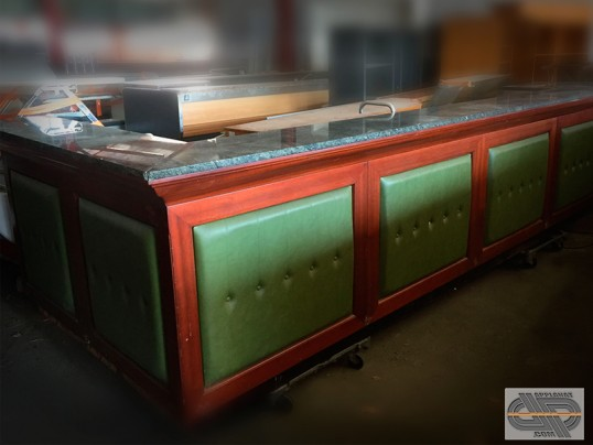 Comptoir de bar retro « Old Pub Style » • 4m55 x 1m90 occasion - 9 ... f7679832ccf0