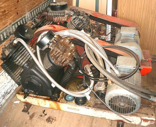 compresseur a piston devilbiss 15 cv occasion
