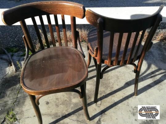 Lot 38 chaises d'intérieur bois massif secteur chr occasion