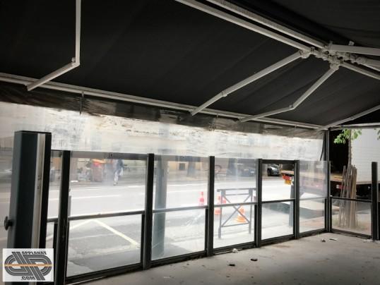 v randa terrasse 24 m2 caf restaurant brasserie occasion vendu. Black Bedroom Furniture Sets. Home Design Ideas