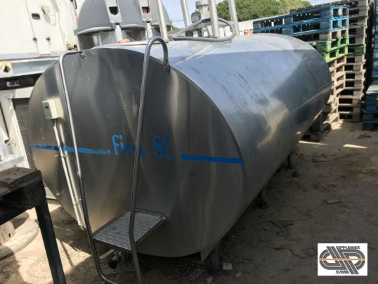 tank à lait 4000 litres SERAP First SEd'occasion