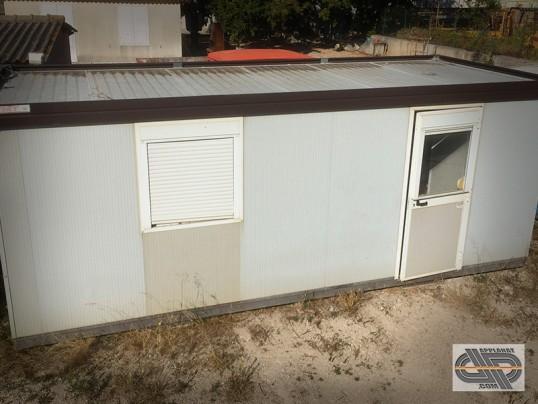 bungalow type algeco 14 m2 occasion vendu. Black Bedroom Furniture Sets. Home Design Ideas