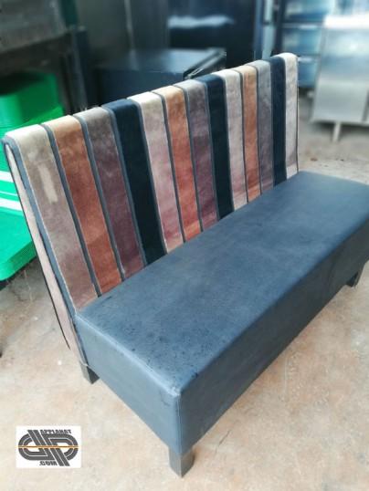 lot 6 banquettes textiles bistrot bar restaurant occasion vendu. Black Bedroom Furniture Sets. Home Design Ideas