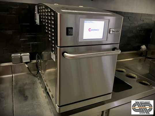 Four compact cuisson rapide Merrychef Eikon E2 (MICRO-ONDE & CONVECTION) kiosque, snack, food-truck,  petite restauration, plats chauds a emporter