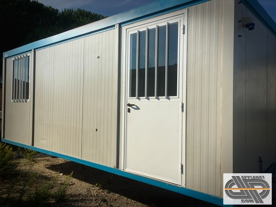 bungalow type algeco 14 m2 avec clim super etat occasion vendu. Black Bedroom Furniture Sets. Home Design Ideas
