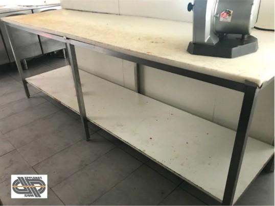 Table De Decoupe Professionnelle 2m50 X 70 Cm Polyethylene