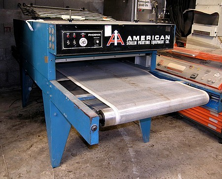 Four de s chage de s rigraphie american screen printing equipment occasion vendu - Tunnel agricole occasion ...