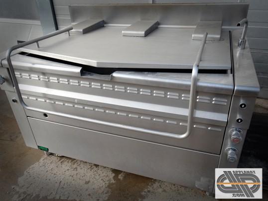 Sauteuse braisière basculante gaz 215 Litres - 87 dm2 – marque COMETTO – modèle RRG 85