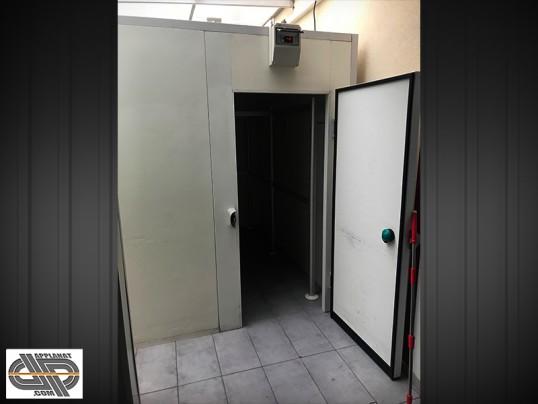 Chambre froide positive de boucherie 14 m3 moteur neuf - Chambre froide d occasion belgique ...