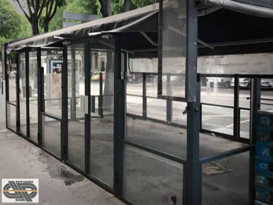 V u00e9randa terrasse 24 m2 caf u00e9 restaurant brasserie